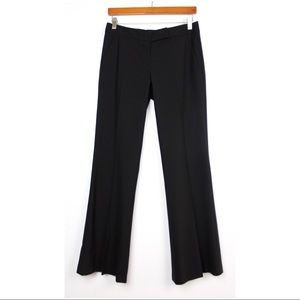 THEORY Black Trouser Dress Pants Work Career
